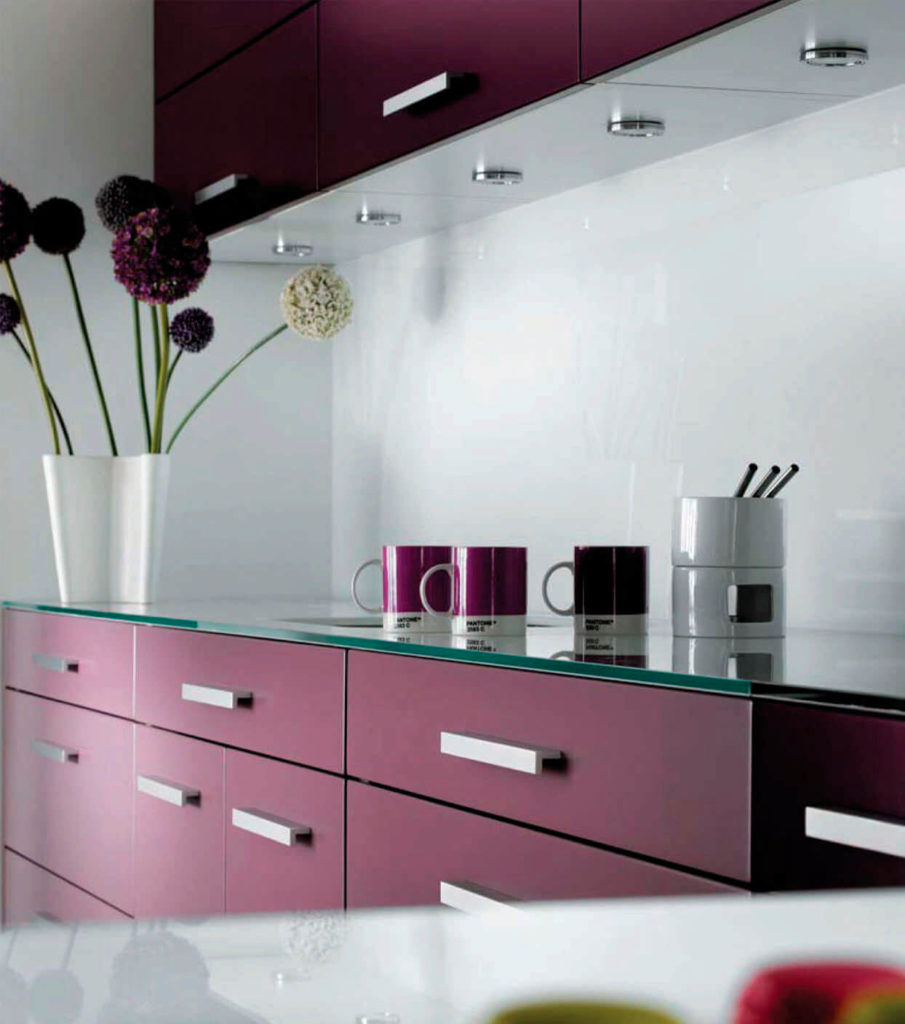 Kitchen Glass Custom Design